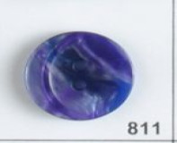 Purple Polyester Button