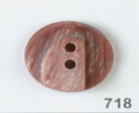 Wine Polyester Button