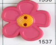 Rose Child's Button