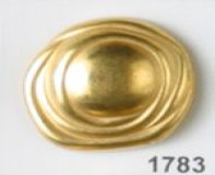 Dull Gold Full Metal Button