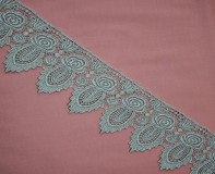 "3.5""  Metallic Venice Lace Trim"