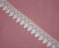 "2.5""  Venice Lace Trim - White"