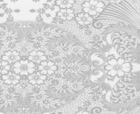 Oilcloth - Paradise Lace Silver